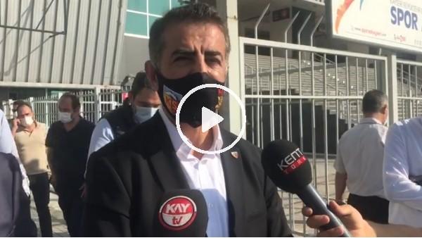 """'Ali Kaynar: """"Ankaragücü maçında kendimizi daha iyi göstereceğiz"""""""