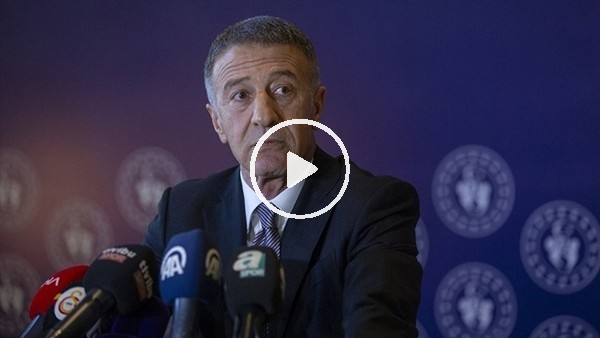 """'Ahmet Ağaoğlu: """"Sörloth olayı çözülürse 48 saat içinde çözülür"""""""
