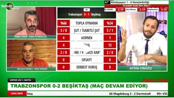 'Beşiktaş'a Trabzonspor Karşısında Verilen Penaltı Doğru Mu? Selçuk Dereli Yorumladı