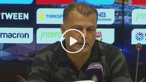 """'Murat Şahin: """"Maçı hak ettiğimizi düşünüyorum"""""""
