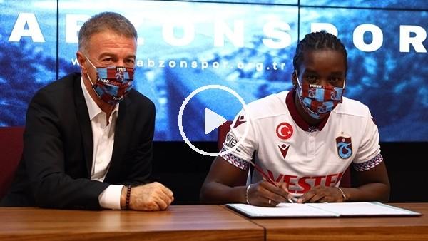 'Trabzonspor, Diabate için imza töreni düzenledi