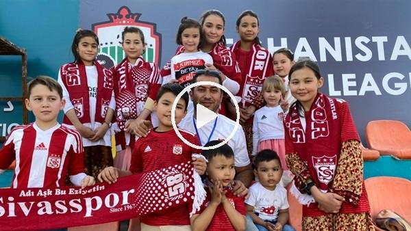 'Afganlı Eyüp Türkmen'in Sivasspor sevgisi bitmek bilmiyor