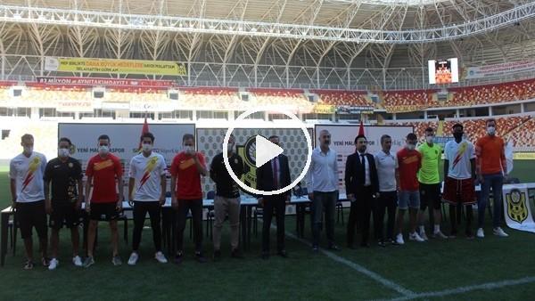 'Yeni Malatyaspor'un yeni transferleri tanıtıldı