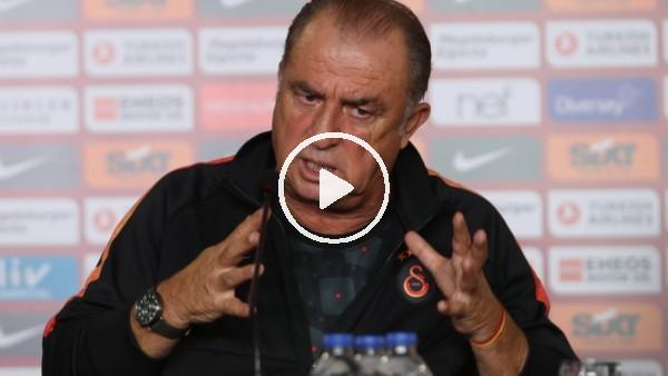 """'Fatih Terim: """"Bu ülkeye her zaman kazanan futbol anlayışını getirmeye çalıştım"""""""