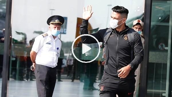 'Galatasaray, Azerbaycan'a ulaştı