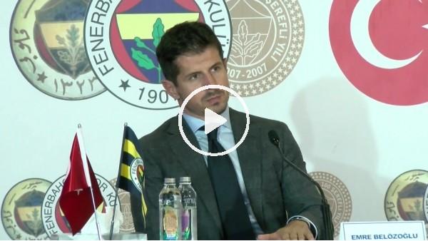 """'Emre Belözoğlu: """"Fenerbahçe'deki en büyük eksik kaliteydi"""""""