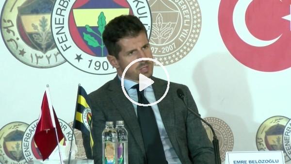 """'Emre Belözoğlu: """"Yapabileceğimiz transferleri büyük oranda yaptık"""""""