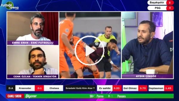 'Başakşehir - PSG maçının ilk yarısından notlar