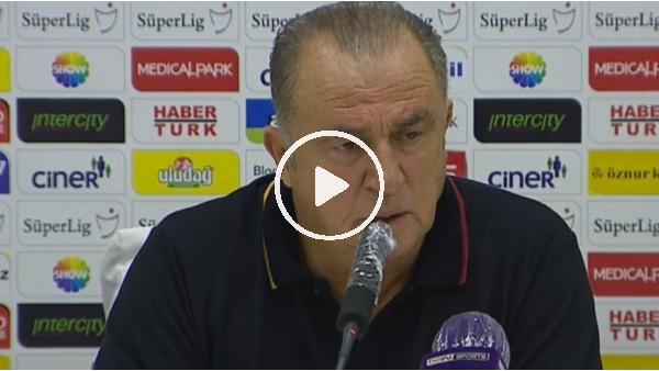"""Fatih Terim: """"Ne Galatasaray'ı ne de takımı bıraktım sadece maçı terk ettim"""""""