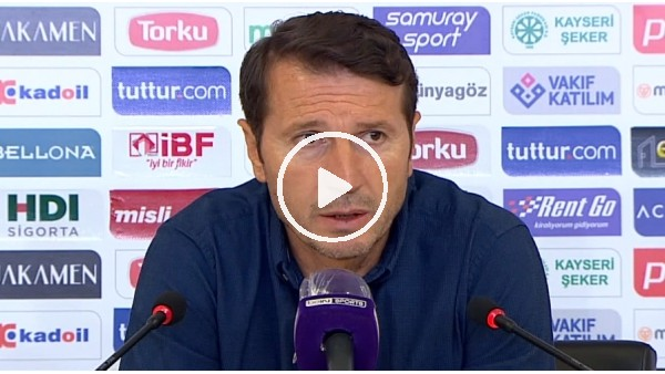 """'Bayram Bektaş: """"Bu şekilde bugün bu maçı kaybetmemeliydik"""""""