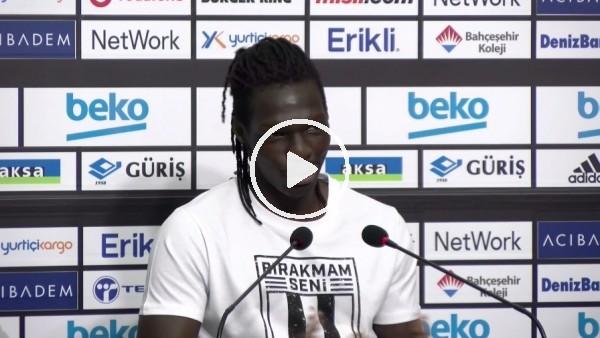 """'N'Sakala: """"Beşiktaş'a gelmek kolay değil, bunun için çok çalıştım"""""""
