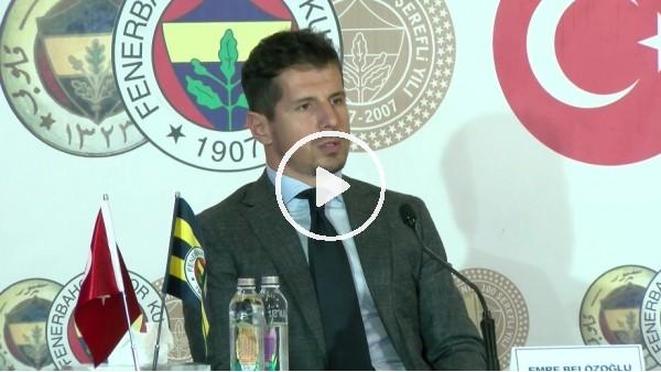 """'Emre Belözoğlu: """"Samandıra'da bizim liderimiz Erol Bulut'tur"""""""