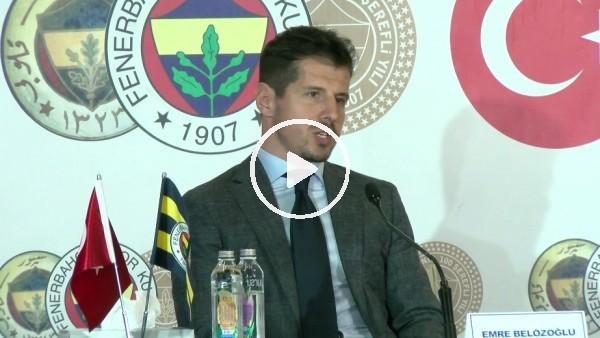 """'Emre Belözoğlu: """"Ali Koç'a bağlı olarak futboldan sorumlu kişiyim"""""""