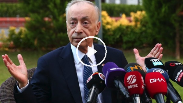 """Mustafa Cengiz: """"Benim mesleğim pompacılık değil yöneticilik"""""""