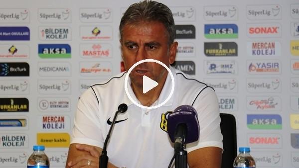 """'Hamza Hamzaoğlu: """"Oyuncularımızın sahadaki performansı oldukça iyiydi"""""""