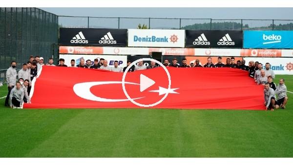 'Beşiktaş'ta 29 Ekim kutlandı