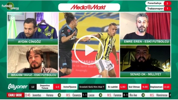 'Fenerbahçe - Trabzonspor maçından notlar! Senad Ok aktardı