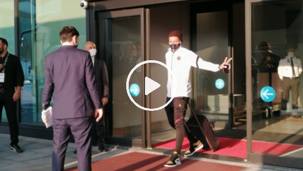'PSG, İstanbul'a geldi