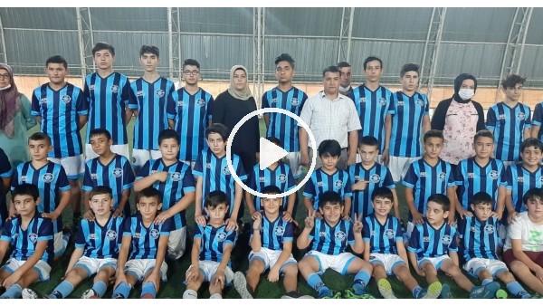 'Oğlunun futbol aşkı anneye futbol kulübü kurdurdu