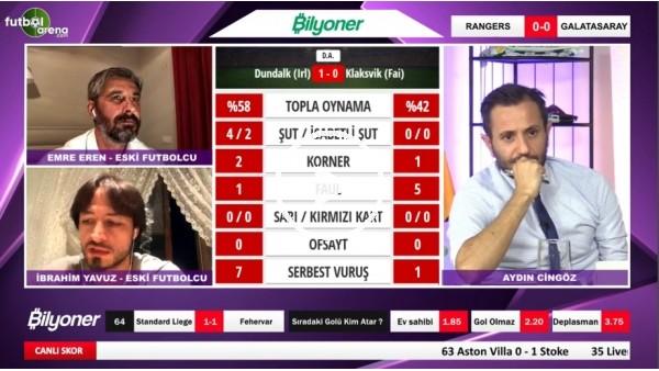 'Maç Günü | Ranger - Galatasaray Maçının İlk Yarısından Notlar | İbrahim Yavuz Ve Emre Eren Aktardı