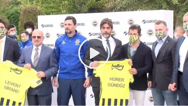 'Fenerbahçe'de yeni takım otobüsünün lansmanı gerçekleşti