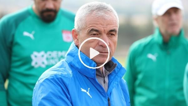 """'Rıza Çalımbay: """"Villarreal maçının rövanşını dört gözle bekliyoruz"""""""