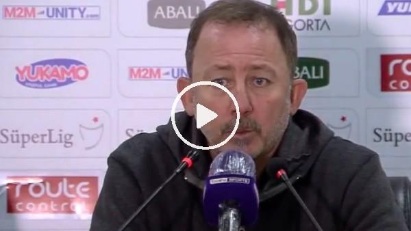 """'Sergen Yalçın: """"Beşiktaş tarihinin en zor antrenörlüğünü ben yapıyorum şu anda"""""""