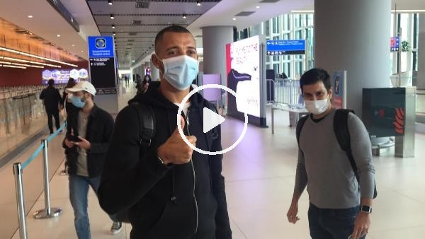 'Vitor Hugo, İstanbul'a geldi