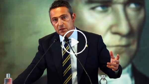 'Ali Koç'un Yüksek Divan Kurulu'ndaki açıklamaları
