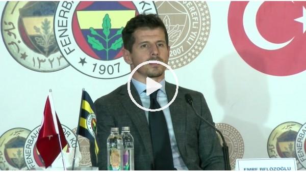 """'Emre Belözoğlu: """"Örnek aldığım bir sportif direktör yok"""""""