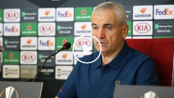 """'Rıza Çalımbay: """"Biz bu maçları Türkiye için oynuyoruz"""""""