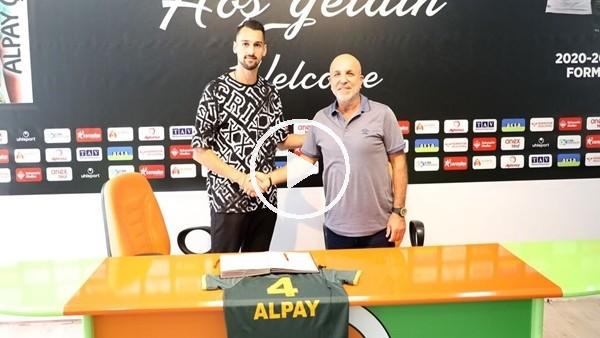 'Alpay Çelebi Alanyaspor'da