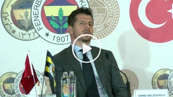 """'Emre Belözoğlu: """"Bzen Fenerbahçe'de şampiyonluk bile yetmez"""""""