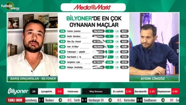 'Barış Dinçarslan, Trabzonspor - Başakşehir maçını yorumladı