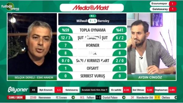 'BB Erzurumspor'un penaltısı doğru mu? Selçuk Dereli yorumladı