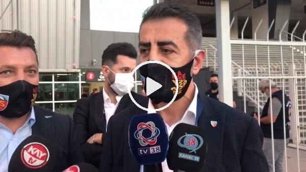 """'Kayserispor Başkan Yardımcısı Ali Kaynar: """"Çok üzgünüz, önümüze bakacağız"""""""