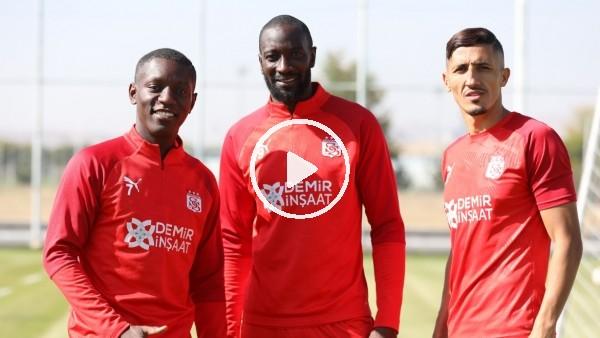 'Sivasspor'da Villarreal maçı hazırlıkları başladı