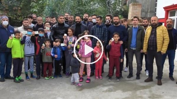 'Samsunspor taraftar grubundan Pamir bebek için destek