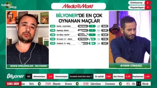'Barıl Dinçarslan, Galatasaray - Kayserispor maçı için tahmini yaptı