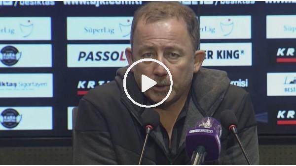 """'Sergen Yalçın: """"Oyuncularımızı maçın önemine iyi konsantre ettik"""""""