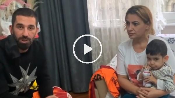 'Arda Turan'dan Sma hastası Ali Eymen için destek