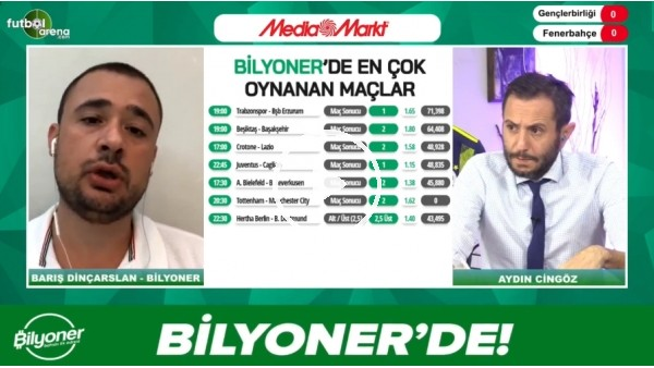 'Barış Dinçarslan. Gençlerbirliği - Fenerbahçe maçı için tahminini yaptı
