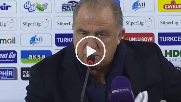 """'Fatih Terim: """"Biz her zaman her yerde Galatasaray takımıyız"""""""