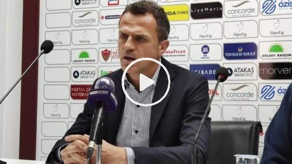 """'Stjepan Tomas: """"3 puanı alacakken 1 puana razı olmak çok üzücü"""""""