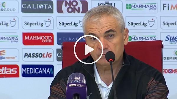"""'Rıza Çalımbay: """"Bir haftada 3 maç oynadık. Galatasaray hiç oynamadı"""""""