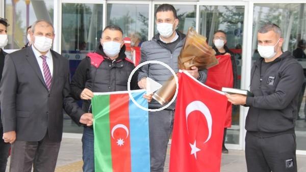 Karabağ'a Sivas'ta bandolu karşılama