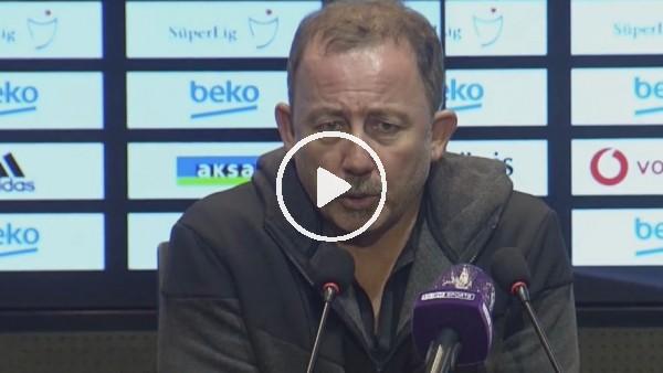 """'Sergen Yalçın: """"Beşiktaş'ın futbolcusu nasıl olmalı ve sahada ne yapmalı, bunu bilsinler"""""""