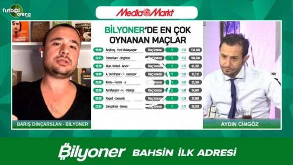 'Barış Dinçarslan, Beşiktaş - Yeni Malatyaspor maçı için tahminini yaptı