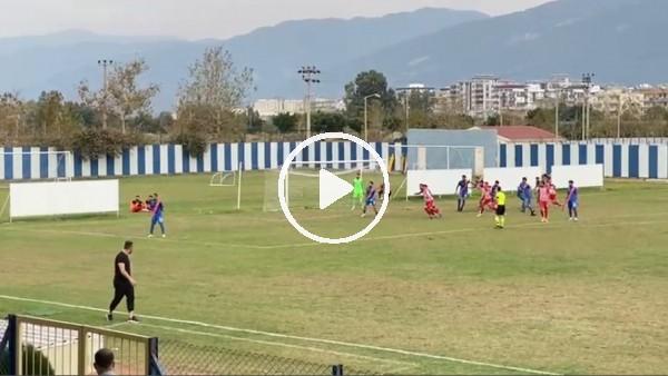 Karaman Belediyespor'un son dakikada İskenderun FK'ya attığı gol