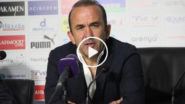 """'Mehmet Özdilek: """"Oyuncularımın ortaya koyduğu mücadeleden memnunum"""""""
